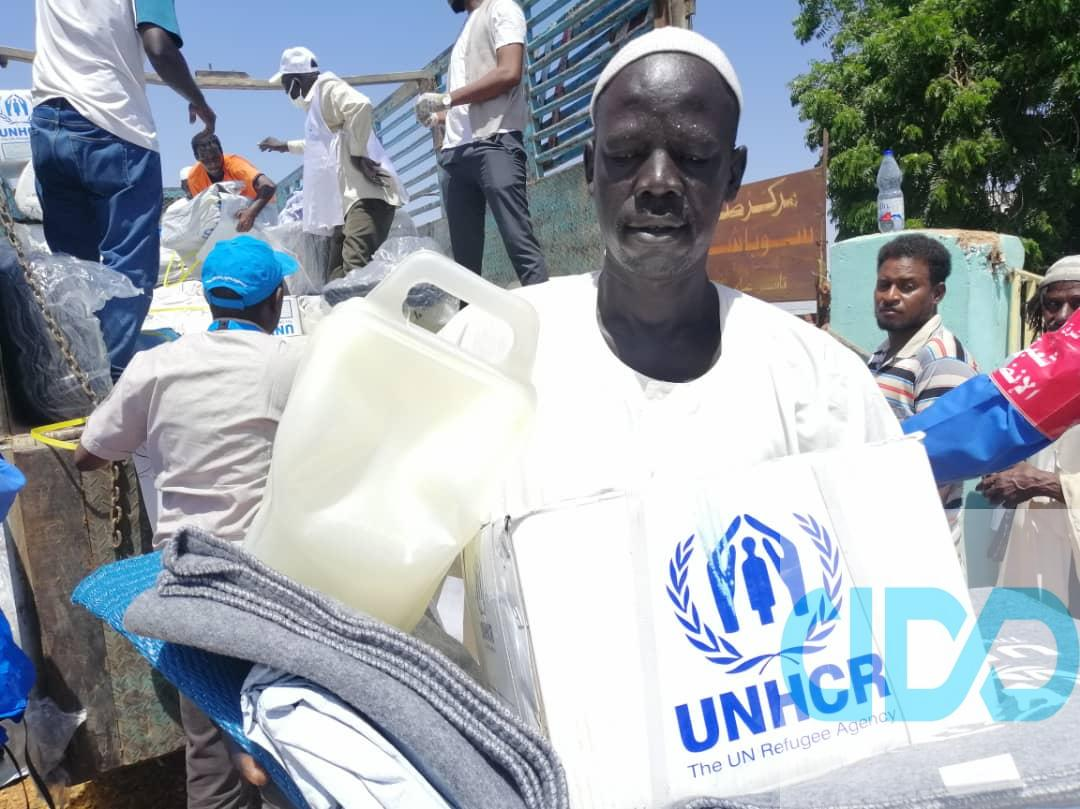 ADD organization, funded by UNHCR, launches a project to support those affected by the floods in Sudan